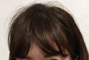 先日のお客様。こんな感じの前髪おすすめです!