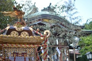 お祭り 氷川神社例祭