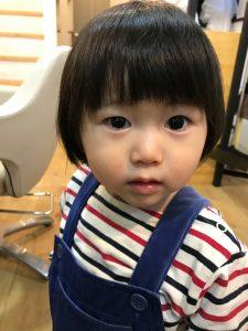 GUEST 超かわいい子の美容室デビュー