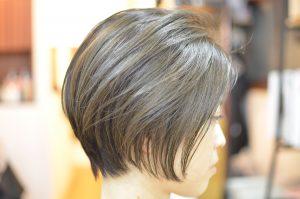 ストレートのショートもイイ❢ あと前髪の重要性~