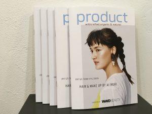 『product』のオシャレ冊子、差し上げてます