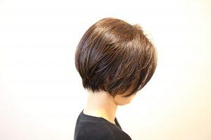 ショートヘアもシンプルに美しく・・・