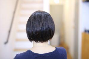 縮毛矯正かけてても、自然なショートヘアできますよ~