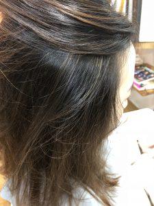 カラーして数か月後の根元の黒い部分が気になる方へのオシャレカラー◎