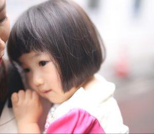 バッサリとテッパンのボブに!3歳女の子◎