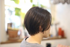 """""""令和""""""""初blog! 直毛のお客様をカットで丸く、やわらかなショートヘアに◎"""