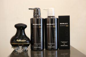 毎日のシャンプー&トリートメント&頭皮美容液で白髪が減るかも??『BOSLEYブラックプラスシリーズ』画像