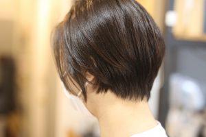 バッサリ切って、カラーして髪質改善ストレートして、一気にイメチェン!
